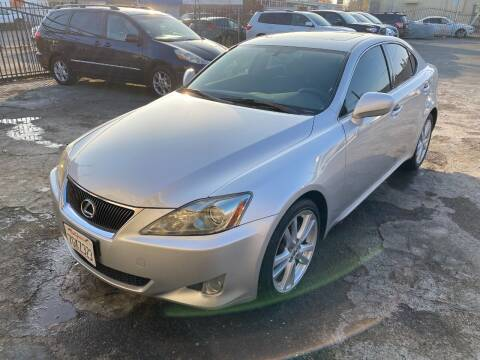 2006 Lexus IS 250 for sale at 101 Auto Sales in Sacramento CA