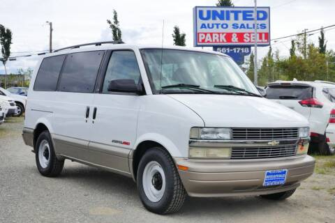 2001 Chevrolet Astro for sale at United Auto Sales in Anchorage AK