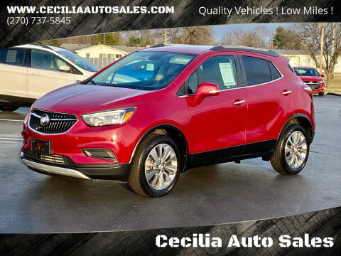 2017 Buick Encore for sale at Cecilia Auto Sales in Elizabethtown KY