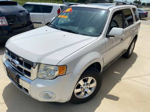 2012 Ford Escape for sale at Raj Motors Sales in Greenville TX