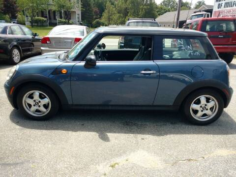 2010 MINI Cooper for sale at Auto Brokers of Milford in Milford NH