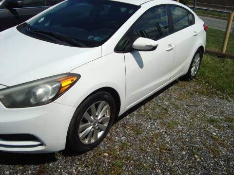 2014 Kia Forte for sale at Branch Avenue Auto Auction in Clinton MD