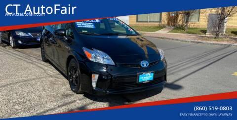 2012 Toyota Prius for sale at CT AutoFair in West Hartford CT