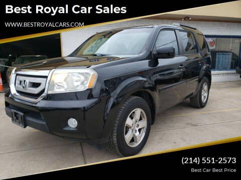 2011 Honda Pilot for sale at Best Royal Car Sales in Dallas TX