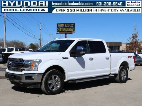 2018 Ford F-150 for sale at Hyundai of Columbia Con Alvaro in Columbia TN