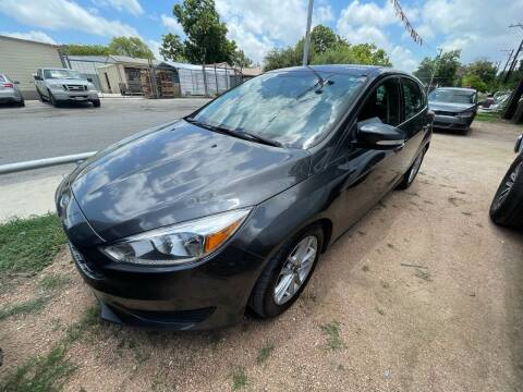 2016 Ford Focus for sale at S & J Auto Group in San Antonio TX