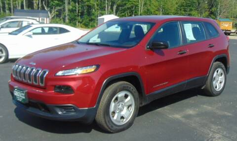 2016 Jeep Cherokee for sale at Greg's Auto Sales in Searsport ME