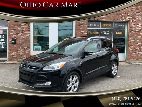 2015 Ford Escape for sale at Ohio Car Mart in Elyria OH