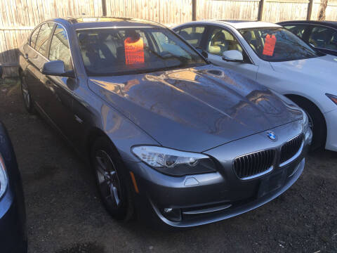 2013 BMW 5 Series for sale at MELILLO MOTORS INC in North Haven CT