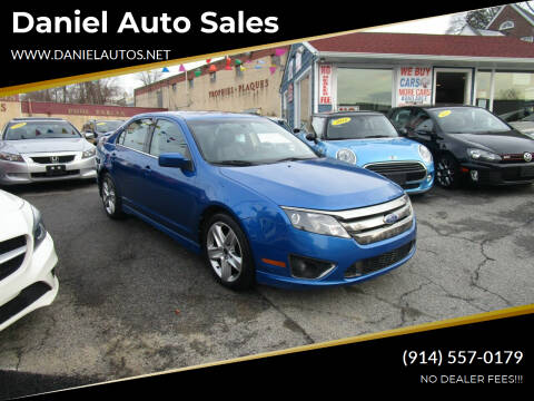 2011 Ford Fusion for sale at Daniel Auto Sales in Yonkers NY