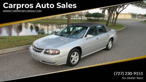 2004 Chevrolet Impala for sale at Carpros Auto Sales in Largo FL