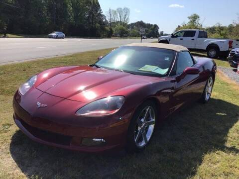 2006 Chevrolet Corvette for sale at LEE CHEVROLET PONTIAC BUICK in Washington NC