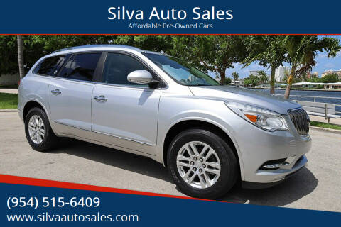 2015 Buick Enclave for sale at Silva Auto Sales in Pompano Beach FL