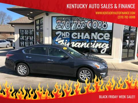 2014 Nissan Altima for sale at Kentucky Auto Sales & Finance in Bowling Green KY