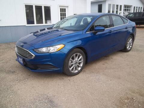 2017 Ford Fusion for sale at Wieser Auto INC in Wahpeton ND