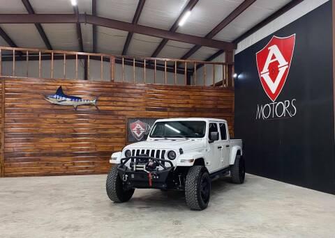 2020 Jeep Gladiator for sale at A & V MOTORS in Hidalgo TX