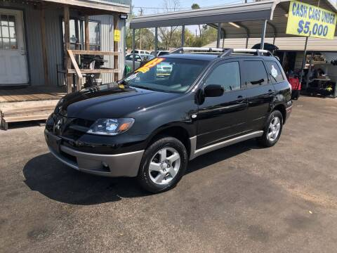 2003 Mitsubishi Outlander for sale at Texas 1 Auto Finance in Kemah TX
