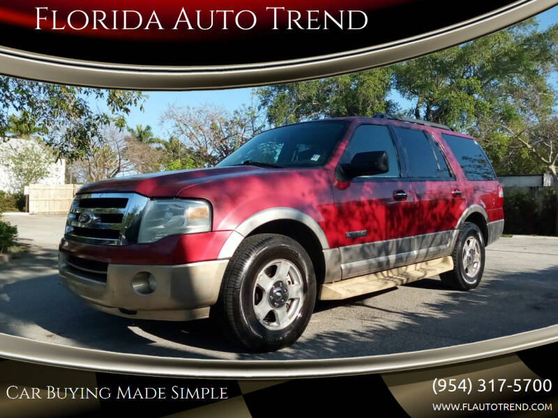 2007 Ford Expedition for sale at Florida Auto Trend in Plantation FL