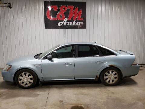 2008 Ford Taurus for sale at C&M Auto in Worthing SD