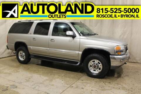 2003 GMC Yukon XL for sale at AutoLand Outlets Inc in Roscoe IL