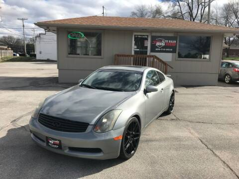 2004 Infiniti G35 for sale at Big Red Auto Sales in Papillion NE
