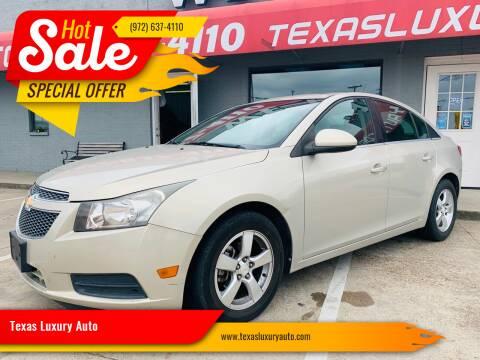 2011 Chevrolet Cruze for sale at Texas Luxury Auto in Cedar Hill TX