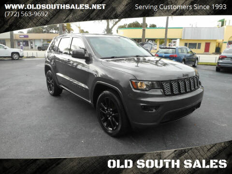 2017 Jeep Grand Cherokee for sale at OLD SOUTH SALES in Vero Beach FL