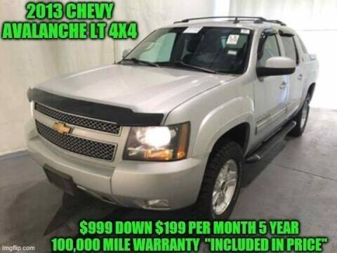 2013 Chevrolet Avalanche for sale at D&D Auto Sales, LLC in Rowley MA