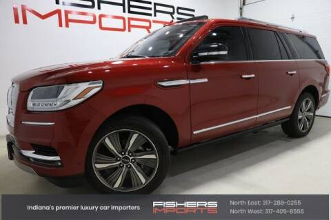 2019 Lincoln Navigator L for sale at Fishers Imports in Fishers IN