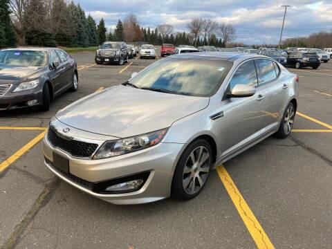 2013 Kia Optima for sale at ENFIELD STREET AUTO SALES in Enfield CT