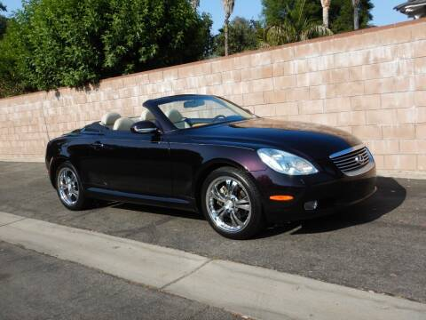 2003 Lexus SC 430 for sale at California Cadillac & Collectibles in Los Angeles CA