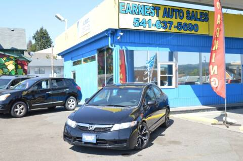 2010 Honda Civic for sale at Earnest Auto Sales in Roseburg OR