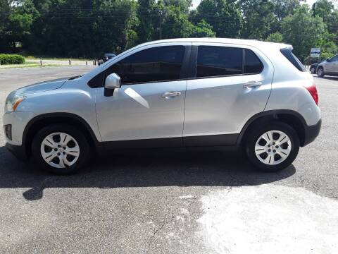 2016 Chevrolet Trax for sale at WALKER MOTORS LLC in Hattiesburg MS
