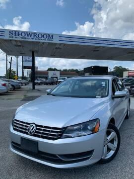 2012 Volkswagen Passat for sale at Showroom Auto Sales of Charleston in Charleston SC