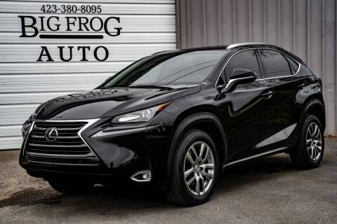 2016 Lexus NX 200t for sale at Big Frog Auto in Cleveland TN