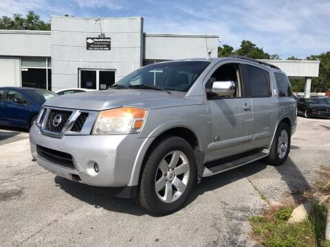 2008 Nissan Armada for sale at Popular Imports Auto Sales in Gainesville FL