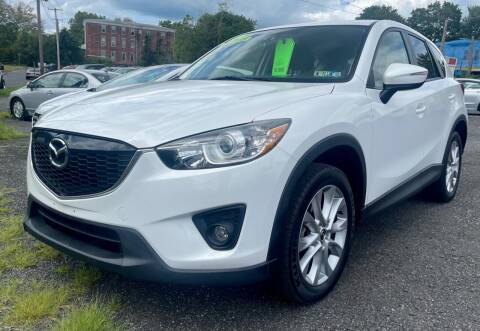 2015 Mazda CX-5 for sale at Mayer Motors of Pennsburg in Pennsburg PA