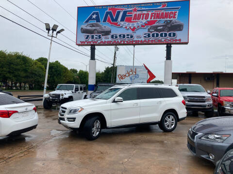 2015 Mercedes-Benz GL-Class for sale at ANF AUTO FINANCE in Houston TX