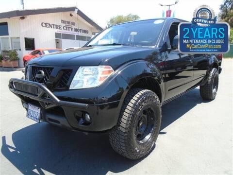 2011 Nissan Frontier for sale at Centre City Motors in Escondido CA