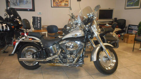 2003 Harley-Davidson FLSTFI  FATBOY for sale at Classic Connections in Greenville NC