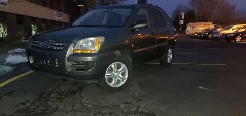 2007 Kia Sportage for sale at Cj king of car loans/JJ's Best Auto Sales in Troy MI