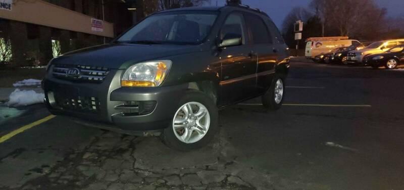 2007 Kia Sportage for sale at Cj king of car loans/JJ's Best Auto Sales in Troy MI