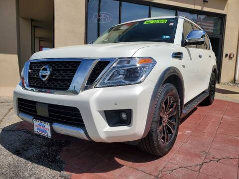 2018 Nissan Armada for sale at Auto Wholesalers Of Hooksett in Hooksett NH