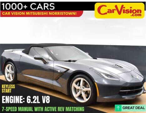 2014 Chevrolet Corvette for sale at Car Vision Buying Center in Norristown PA
