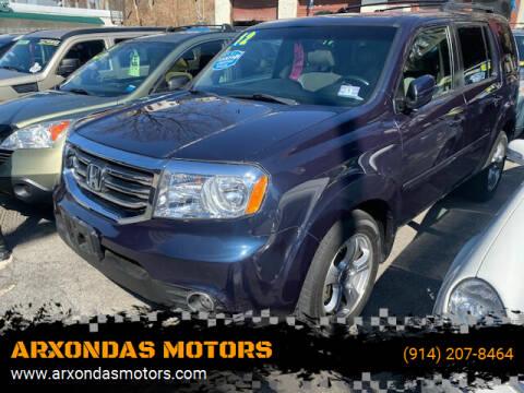 2012 Honda Pilot for sale at ARXONDAS MOTORS in Yonkers NY