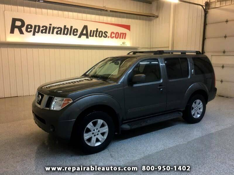 2005 Nissan Pathfinder for sale at Ken's Auto in Strasburg ND