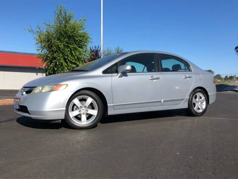 2007 Honda Civic for sale at BOARDWALK MOTOR COMPANY in Fairfield CA