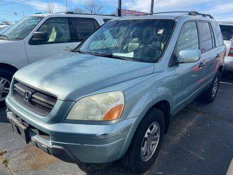 2003 Honda Pilot for sale at Sartins Auto Sales in Dyersburg TN