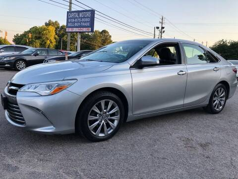 2015 Toyota Camry for sale at Capital Motors in Raleigh NC