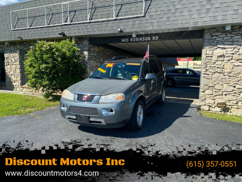 2006 Saturn Vue for sale at Discount Motors Inc in Old Hickory TN